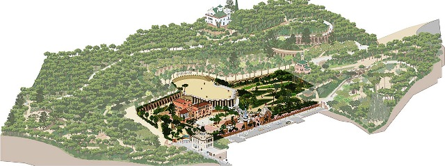 Área Monumental del Park Güell (zona de pago)
