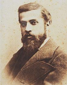 Antonio Gaudí retrato