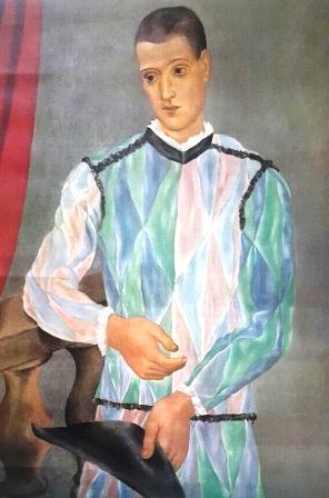 Arlequín de Picasso en el Museo Picasso de Barcelona