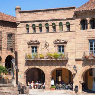Casa Consistorial en la Fresneda (Teruel) en el Poble Espanyol de Barcelona