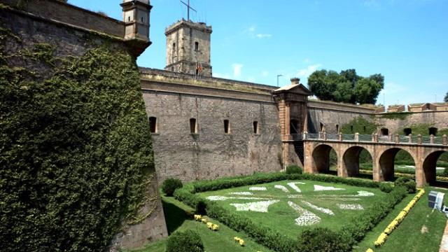 Castillo de Montjuic en Barcelona
