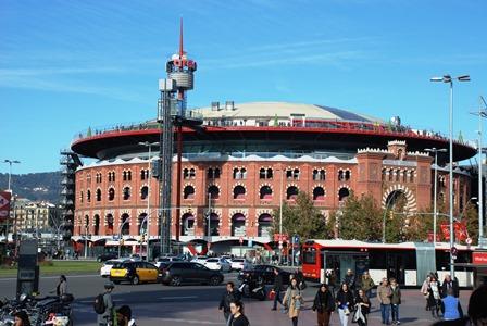 Centro Comercial Las Arenas, en la Plaza de España de Barcelona