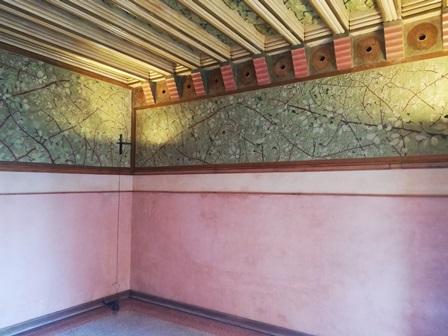 Dormitorio de la Casa Vicens de Gaudí