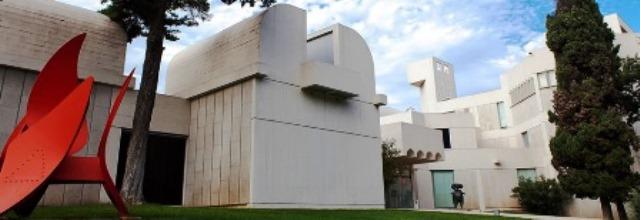 Edificio Fundación Joan Miró del arquitecto Sert