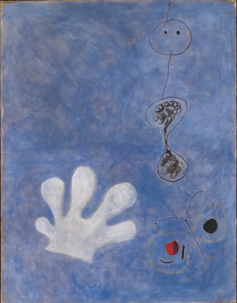 El Guante blanco de Miró de la Fundación Joan Miró en Barcelona