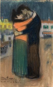El abrazo de Picasso en el Museo Picasso Barcelona