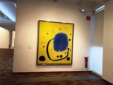 El oro del azur de Joan Miró en la Fundación Joan Miró de Barcelona