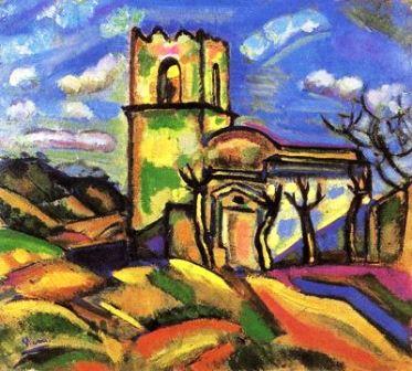 Ermita de Sant Joan d´Horta de Picasso en la Fundación Miró de Barcelona