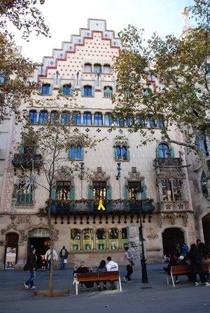 La Casa Amatller de Josep Puig i Cadafalch