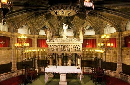 La Cripta de Santa Eulalia