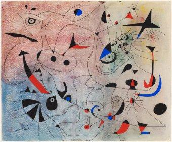 La estrella matinal de Miró de la Fundación Miró en Barcelona
