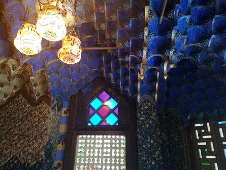 La preciosa Sala de Fumadores en la Casa Vicens de Gaudí