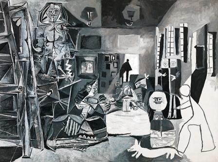 Las Meninas de Picasso en el Museo Picasso Barcelona