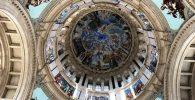 Frescos de la cúpula del Museo Nacional de Arte de Catalunya