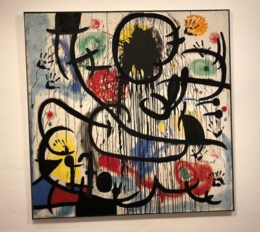 Mayo del 68 de Joan Miró de la Fundación Joan Miró en Barcelona