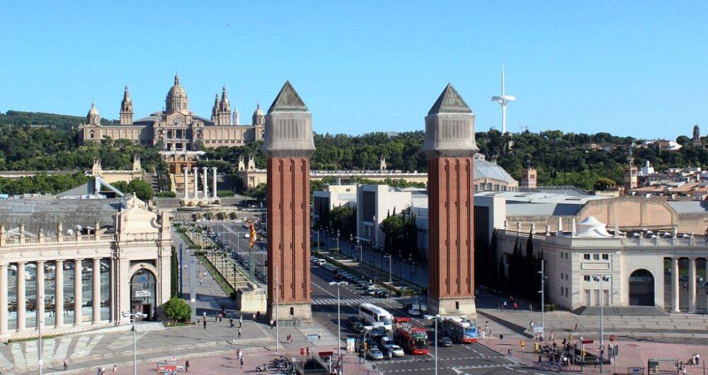 Montjuic en Barcelona