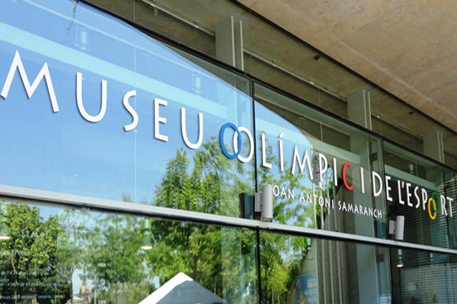 Museo Olímpico y de los deportes Juan Antonio Samaranch en Barceloona