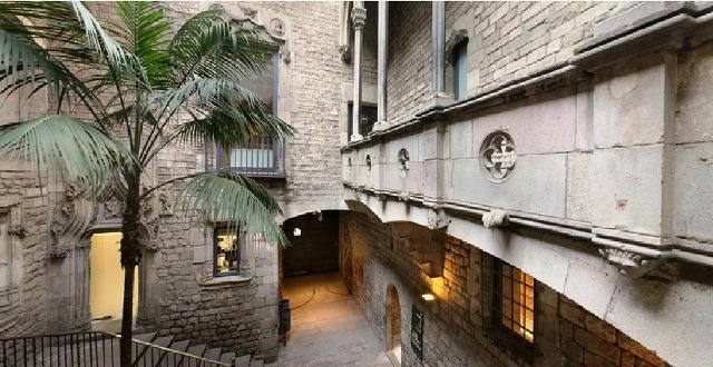 El Palacio Aguilar uno de los palacetes del Museo Picasso Barcelona