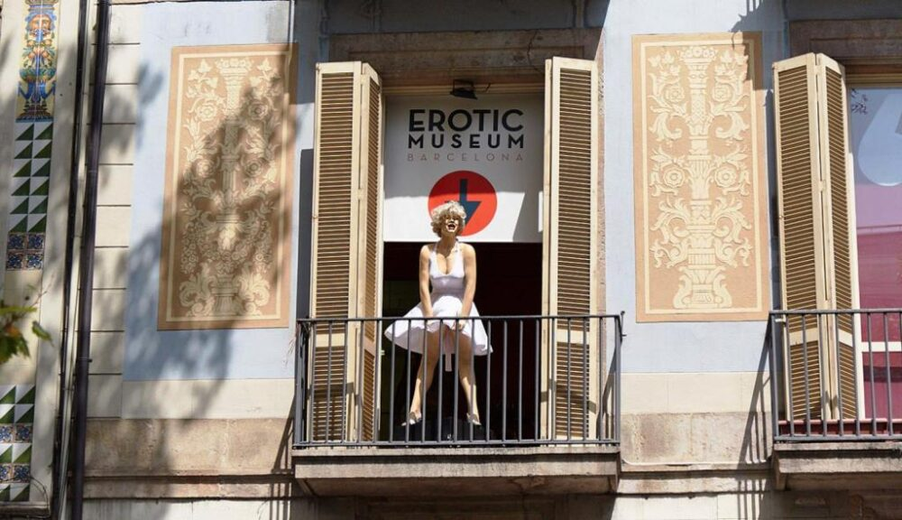 Marilyn Monroe en el Museo de la Erótica de Barcelona
