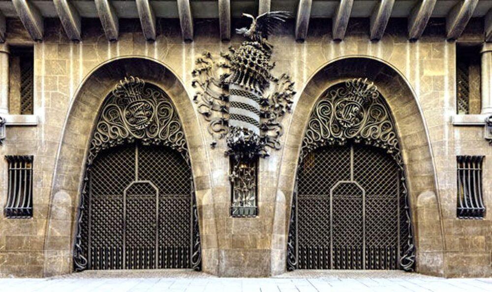 Palacio Güell de Gaudí en Barcelona