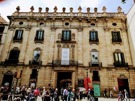 Palacio de la Virreina en Las Ramblas