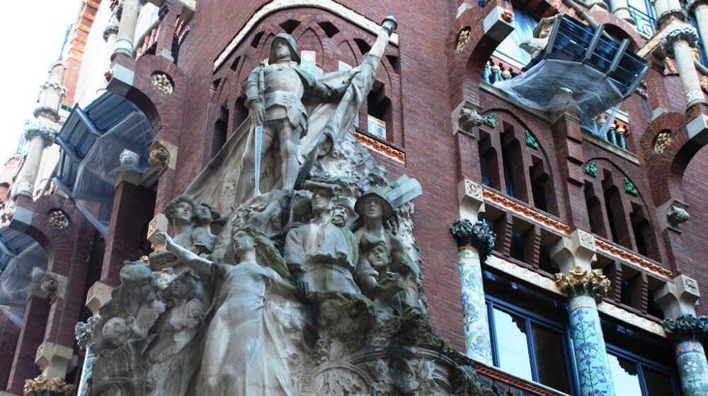 Palau de la Musica Catalana en Barcelona