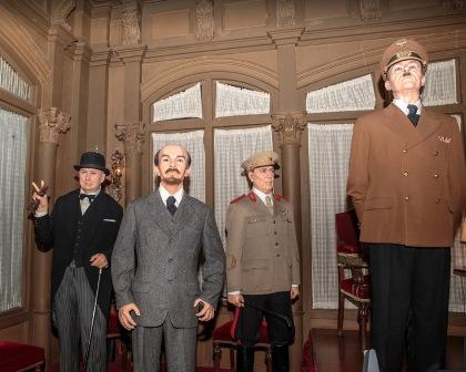 Personajes históricos del Museo de Cera de Barcelona