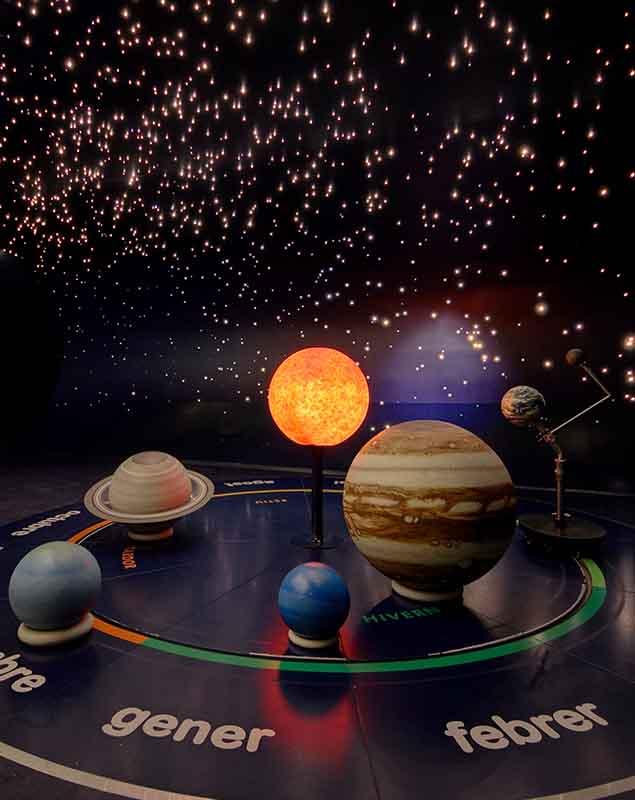 Planetarium en el CosmoCaixa