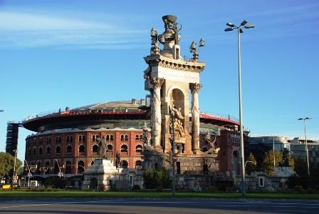 Plaza de España en Barcelona