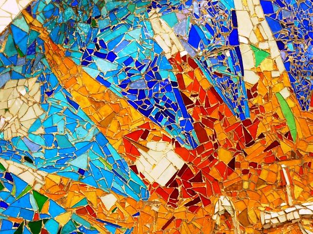 Técnica del Trencadís de Gaudí