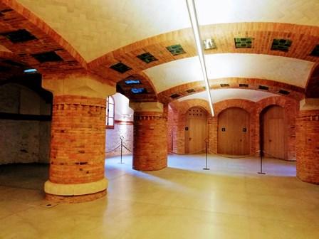 Túneles en el Hospital de Sant Pau de Barcelona