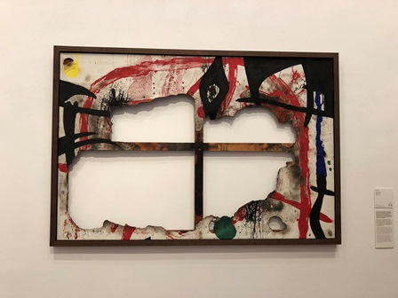Tela Quemada de Joan Miró