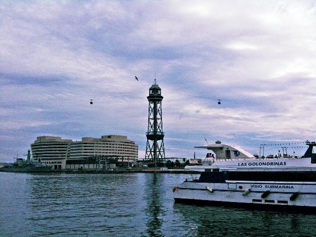 Transbordador aério del Puerto (Teleférico del Puerto) de Barcelona