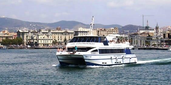 Trimar, embarcación moderna de Las Golondrinas