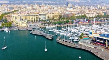 El Port Vell de Barcelona