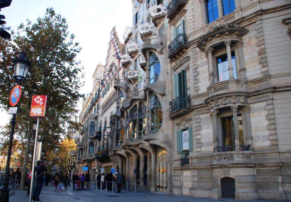 Modernismo catalán, cuadrado de oro