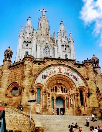 Templo Expiatorio del Sagrado Corazón en el Tibidabo