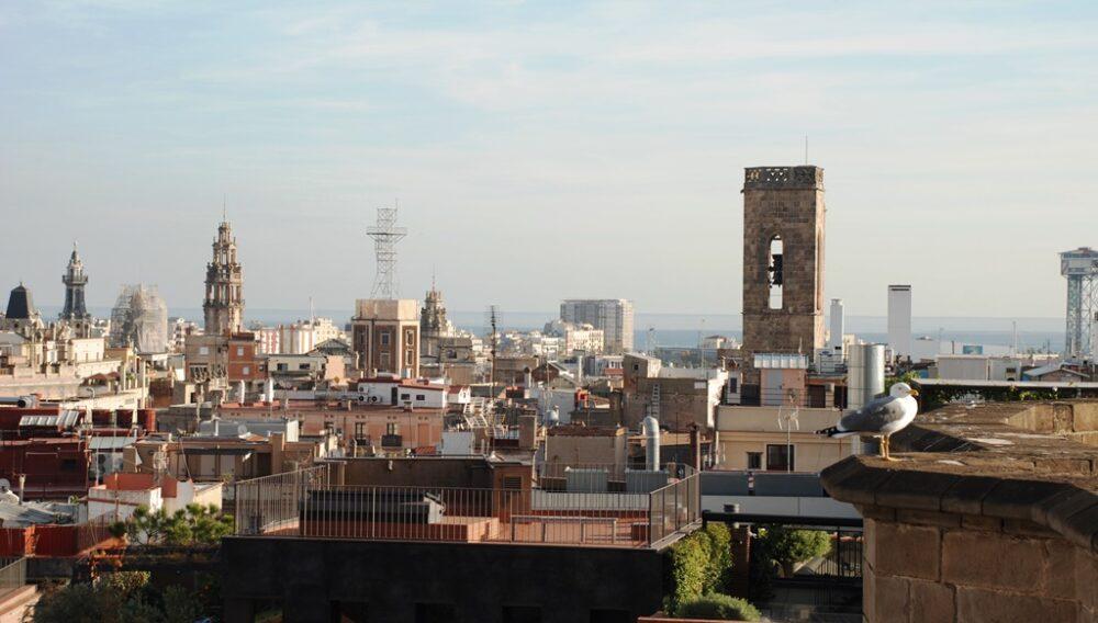 Vistas de Barcelona desde la Catedral
