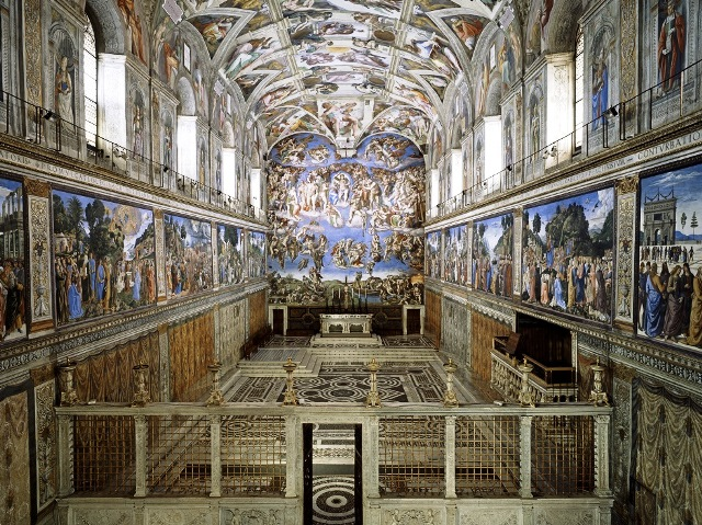 Capilla Sixtinaen los Museos Vaticanos