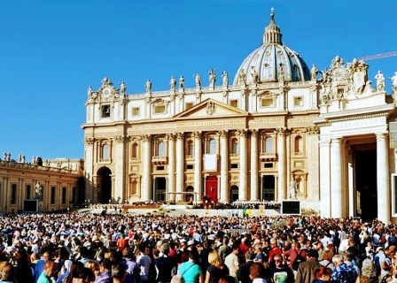 El Balcón de las Bendiciones en el Vaticano
