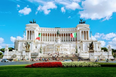 El Vittoriano o el Altar de la Patria en Roma