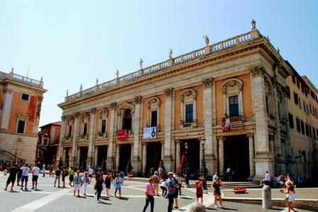 Entrada a los Museos Capitolinos