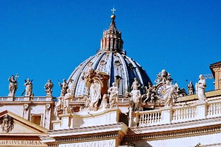 Estatuas de Bernini en el Vaticano