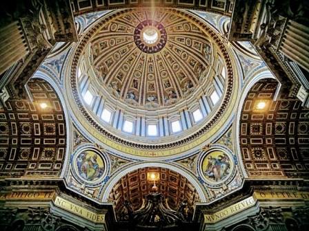 Inscripciones de la Cúpula del Vaticano