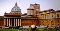 Patio de los Museo Vaticanos