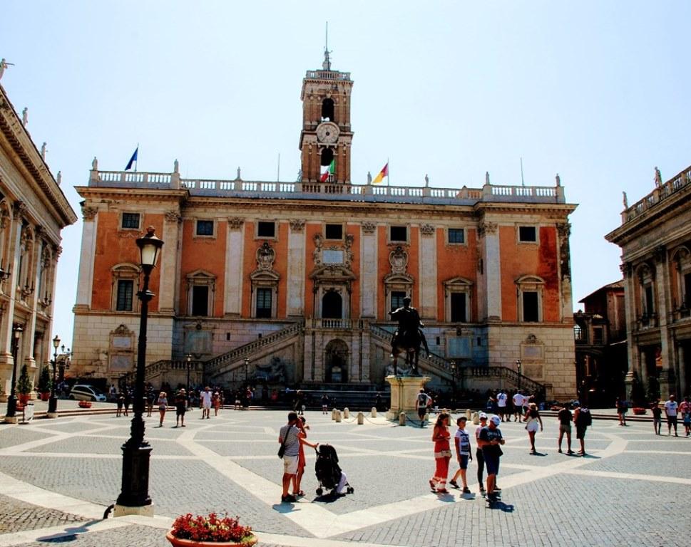 Piazza del Campidoglio en Roma