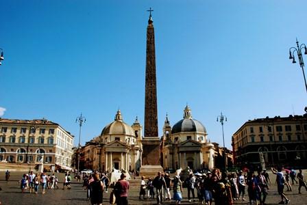 Piazza del Popolo en Romo