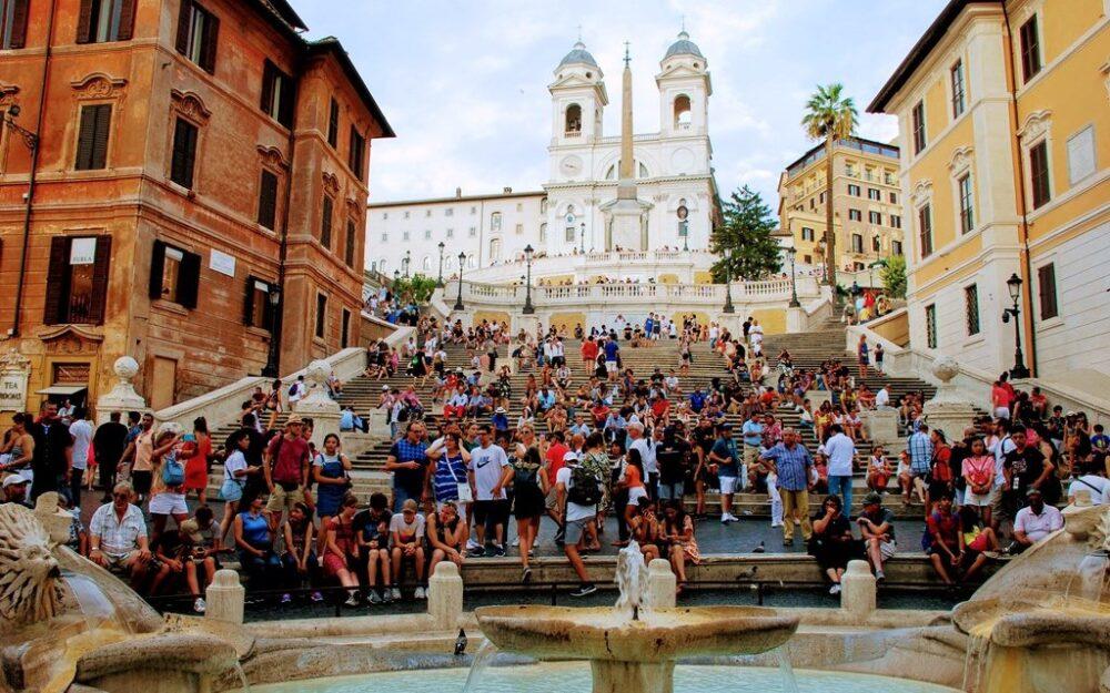 Piazza di Spagna en Roma