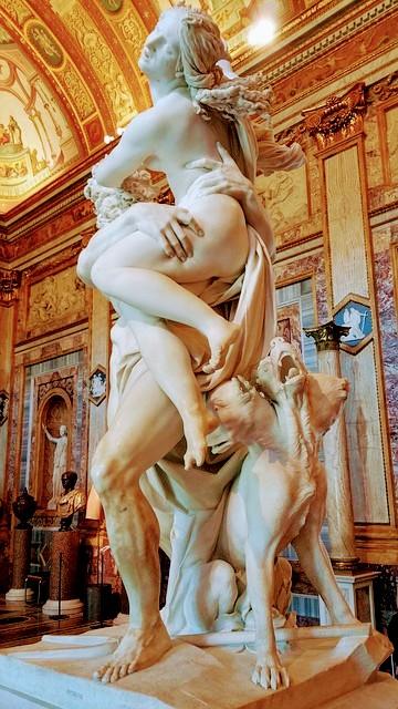 El Rapto de Proserpina en la Galería Borghese