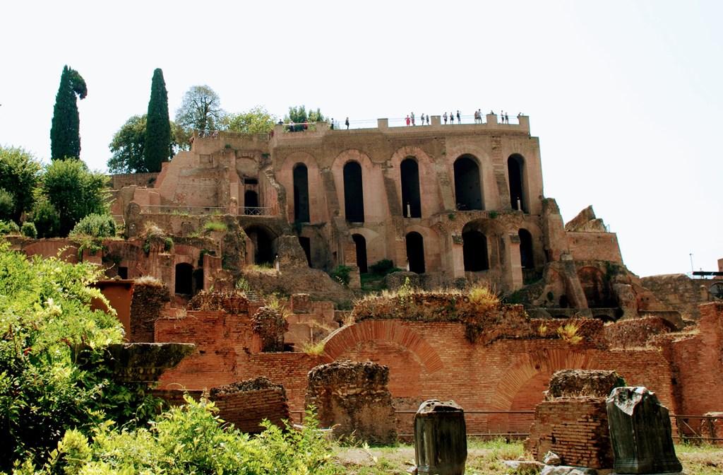 El balcón del Palatino, en la colina del Palatino